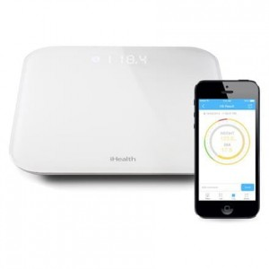 iHealth Lite Wireless Scale - Waga z pomiarem BMI iOS/Android (Bluetooth)