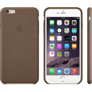 Apple skórzane etui do iPhone 6 Plus, 6s Plus brązowe