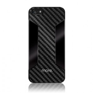 more. Para Blaze CX Etui Carbon iPhone 5 / 5s + folia na ekran (czarny)